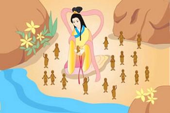 По китайским легендам, Нюй-ва сотворила глиняные фигурки, а затем вдохнула жизнь в эти фигурки. Фото с epochtimes.ru