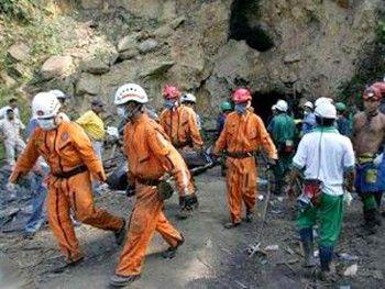 Авария на одной из шахт Китая. Фото: scotsman.com