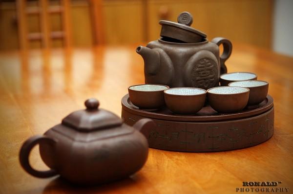 Чайный набор от Бучкой