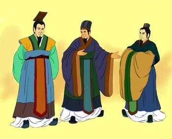 Бао Шуя рекомендует Гуань Чжун на должность премьер-министра. Иллюстрация: Чжичин Чен/Великая Эпоха (The Epoch Times)