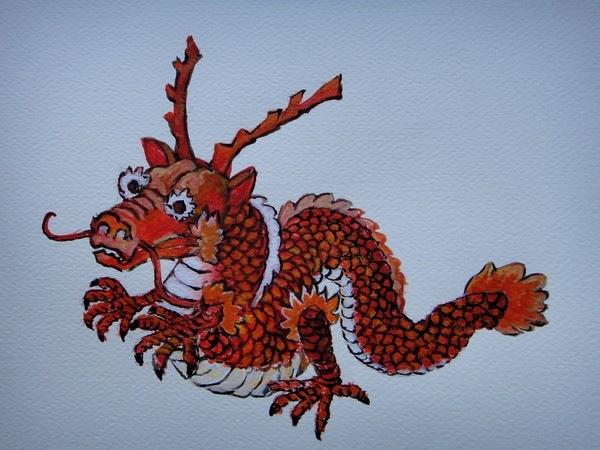 Дракон. Иллюстрация: Кияка Чу /Великая Эпоха