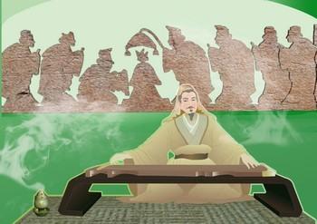 Чжоу, основоположник ритуальных действий. Иллюстрация: Кэтрин Чан/Великая Эпоха(The Epoch Times)
