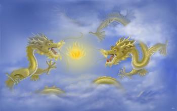 Восточный дракон. Иллюстрация: С. М. Ян /Великая Эпоха