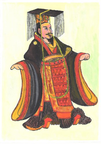 Император У Хань, величайший император династии Хань. Иллюстрация: Киёка Чу/Великая Эпоха (The Epoch Times)