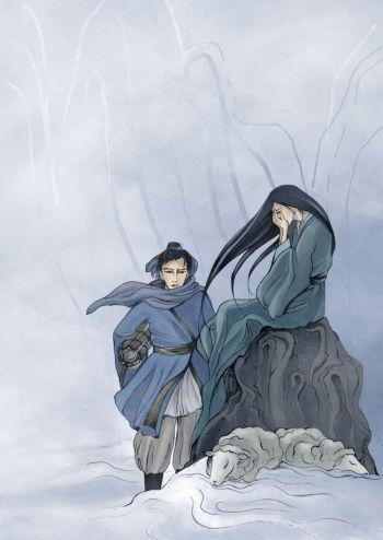 Лю И встретил принцессу дракона, одну в ледяной дикой местности, пасущую стадо овец. Фото: Шаошао Чэнь /Великая Эпоха