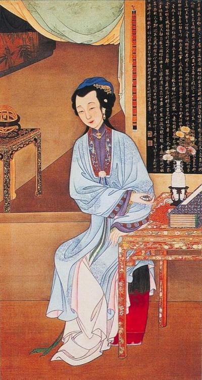 Китайская живопись – 12 образов воплощения женской красоты. Фото: news.zhengjian.org