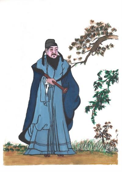 Вэй Чжэн - беспристрастный и прямолинейный советник императора Тайцзуна. Иллюстрация: Киойка Чу/Великая Эпоха (The Epoch Times)