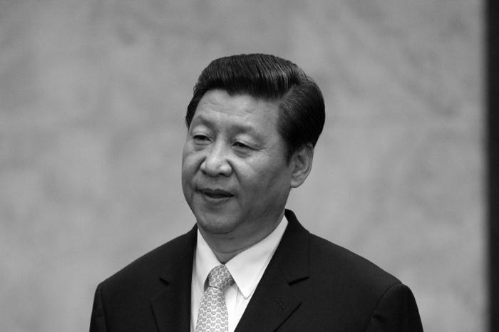 Си Цзиньпин в Большом зале народных собраний в Пекине 14 июня 2013 года. Фото: Goh Min Chin/AFP/Getty Images
