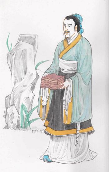 Тао Кань — бережливый губернатор и дисциплинированный генерал. Иллюстрация: Блу Сяо/Великая Эпоха (The Epoch Times)