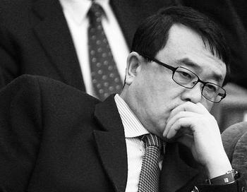Ван Лицзюнь, бывший начальник управления общественной безопасности Чунцина, март 2011 года. Фото: Feng Li/Getty Images