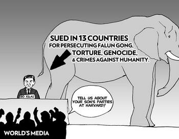 Бо Силай считался восходящей звездой и возможным будущим лидером китайской коммунистической партии, однако недавно он был лишён всех постов и брошен своими близкими друзьями. Ранее ему были предъявлены в 13 странах судебные иски за пытки и преступления против человечности.  Фото: Jeff Nenarella/The Epoch Times