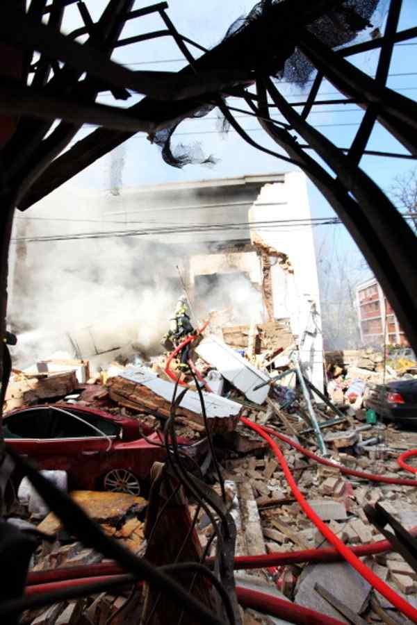Взрыв в Пекине жилого дома.Фото:Getty Images