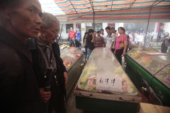 Фоторепортаж. От наводнения страдает центральный район Китая провинция Хунань. Фото: STR/AFP/Getty Images