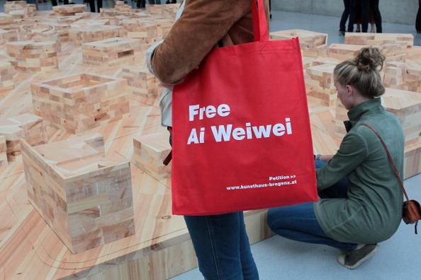 В городе Бергенц, в Австрии 15 июля открылась выставка китайского художника Ай Вэйвея. Фото:Йоханнес Саймон / Getty Images