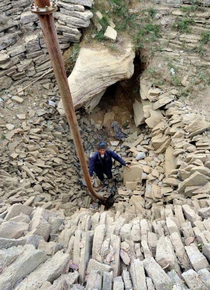 В юго-западной китайской провинции Гуйчжоу от недостатка воды страдают более 5,47 млн. человек. Фото: STR / AFP / Getty Images