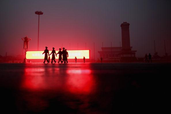 Пекин покрыт смогом.Фото: Feng Li/Getty Images