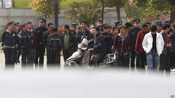 В Китае вспыхнула многотысячная забастовка водителей грузовиков. Фото:http://www.kanzhongguo.com
