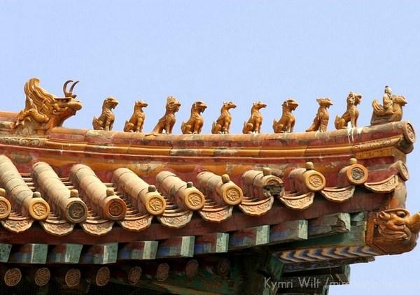 Архитектура древних китайских дворцовых комплексов. Фото:pureinsight.com