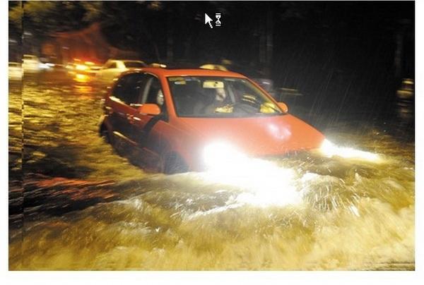 Наводнение в Пекине. Фото: epochtimes.com