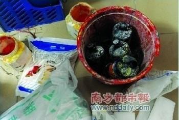 Некоторые ингредиенты для изготовления фальшивой «бататовой лапши». Фото с epochtimes.com