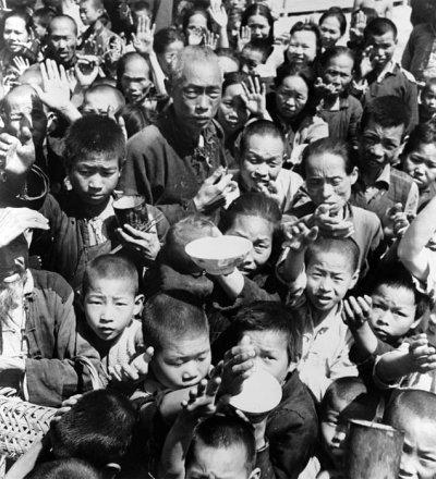 Годы искусственного голодомора в Китае. Фото с epochtimes.com