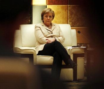 Канцлер Германии Ангела Меркель в Китае. Фото: Getty Image