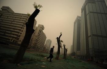 Уровень загрязнения воздуха в 58% китайских городов в пять раз выше международных стандартов. Фото: PETER PARKS / AFP ImageForum