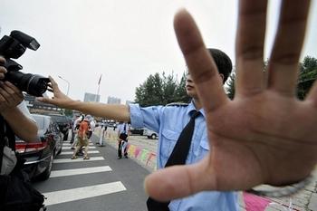 Для иностранных корреспондентов в Китае существует множество препятствий со стороны властей. Фото: JEWEL SAMAD/AFP/Getty Images