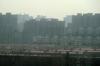 Смог в Пекине. Январь 2012 год. Фото: Ed Jones/AFP
