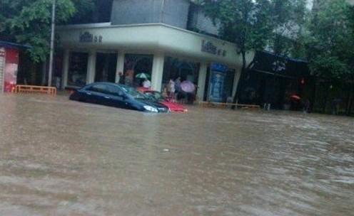 Наводнение в Китае. Провинция Сычуань. Сентябрь 2012 год. Фото с epochtimes.com