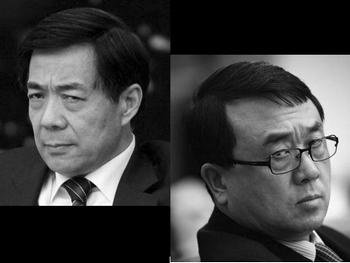 Бо Силай (слева) и Ван Лицзюнь стали непримиримыми врагами. Фото с epochtimes.com