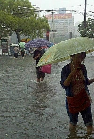 Наводнение на юге Китая. Май 2012 год. Фото с epochtimes.com