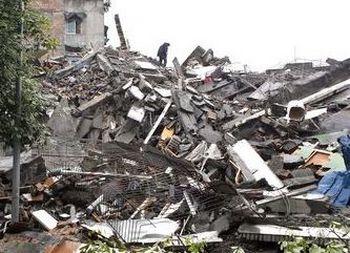 Землетрясение в Синьцзяне разрушило тысячи домов. Фото с epochtimes.com