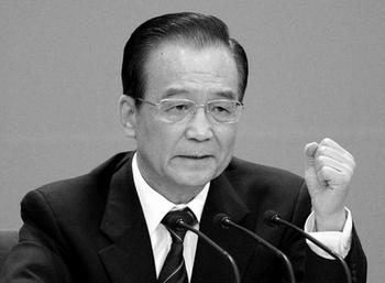 Премьер-министр Китая Вэнь Цзябао в очередной раз указал на важность экономических реформ в стране. Фото: LIU JIN/AFP