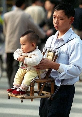В Китае растёт новое поколение ещё более избалованных детей. Фото: LIU JIN /AFP