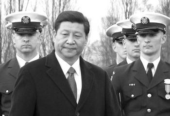 Си Цзиньпин прибыл с официальным визитом в США. 14 февраля 2012 год. Фото: Ли Ша/ The Epoch Times