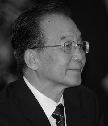 Премьер министр Китая Вэнь Цзябао. Фото: SONNY TUMBELAKA/AFP