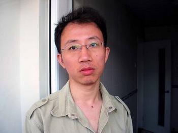 Китайский правозащитник Ху Цзя. Фото с epochtimes.com