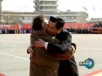 Ким Чен Ир — «сердечный друг китайского народа». Фото с epochtimes.com