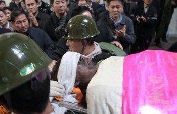 В феврале 2012 года в Китае в результате аварий погибло 177 шахтёров. Фото с rednet.cn