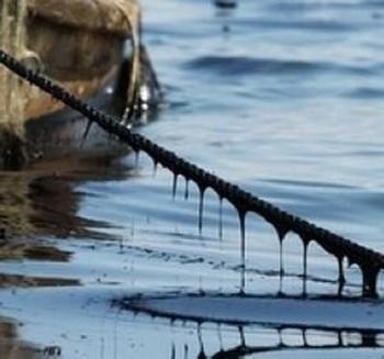 Разлив нефти в Бохайском заливе. Фото с epochtimes.com