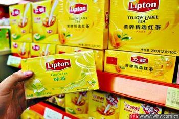 В китайских чаях «Липтон» (Lipton) обнаружено 17 видов пестицидов. Фото с sina.com.cn
