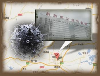 Госпиталь, в котором на карантине находятся сотни военных. Провинция Хэбэй