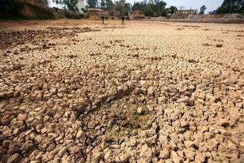 Засуха в провинции Юньнань. 27 февраля 2012 год. Фото: STR/AFP/Getty Images