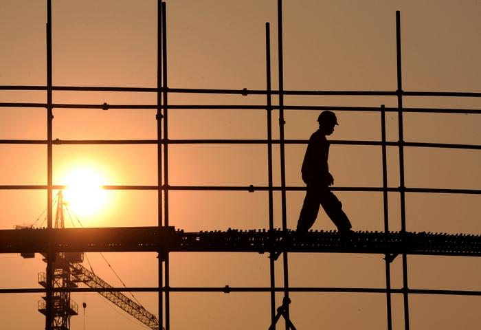 Прибыль китайских предприятий продолжает падать. Фото: AFP