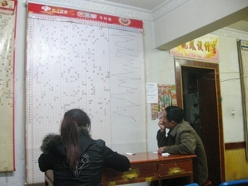 Сотни миллионов китайцев мечтают быстро разбогатеть с помощью лотереи. Фото: Николай Ошкай/Великая Эпоха
