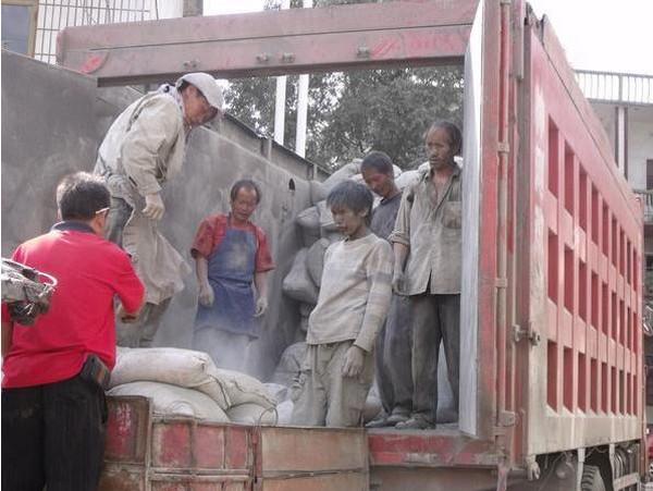 Китайские грузчики. Провинция Гуйчжоу. 2011 год. Фото с kanzhongguo.com