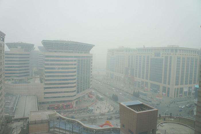 Плохая экология в Пекине отпугивает иностранцев. Фото: ЦАН