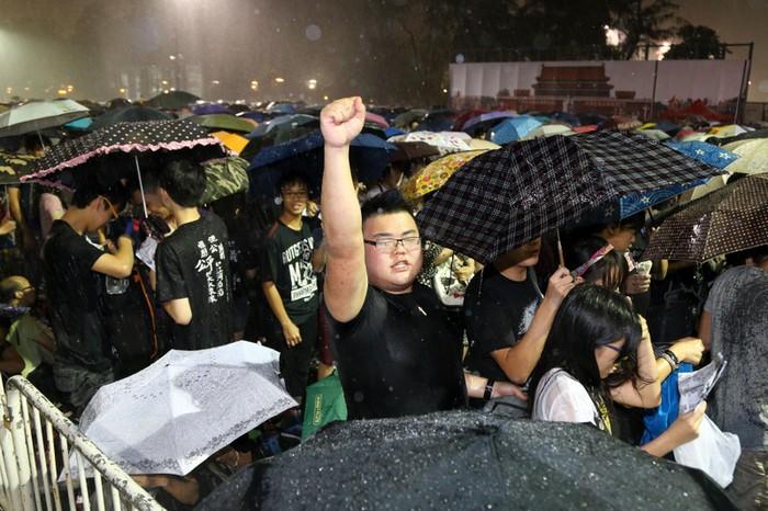 Акция памяти погибших участников студенческого восстания в 1989 году. Гонконг. 4 июня 2013 года. Фото: The Epoch Times