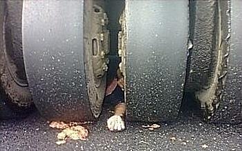 Страшная смерть под катком. Провинция Хунань. Сентябрь 2012 год. Фото с epochtimes.com